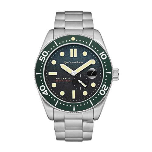SPINNAKER Croft Herren-Armbanduhr 43mm Armband Edelstahl Automatik SP-5058-11