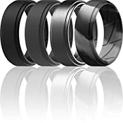 A MUST FOR AN ACTIVE LIFESTYLE – Workout, lifting, climbing or any other physical activity? Our silicone wedding bands will be great in replacing your formal wedding band to keep it safe from being scratched or damaged. MAXIMUM SAFETY AT WORK – Safe ...