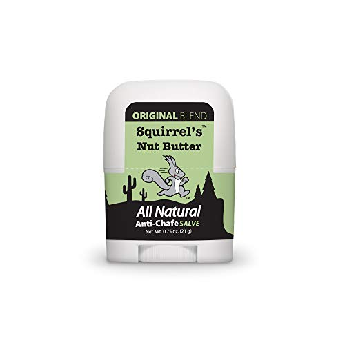 Squirrel's Nut Butter All Natural Anti Chafe Salve, Stick Applicator, 0.75 oz