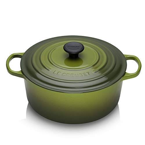 Le Creuset 7.25 Quart Round Cast Iron French Oven Spinach Green