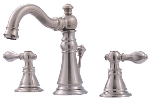 Ultra UF55113 Two-Handle Brushed Nickel Lavatory Faucet with...