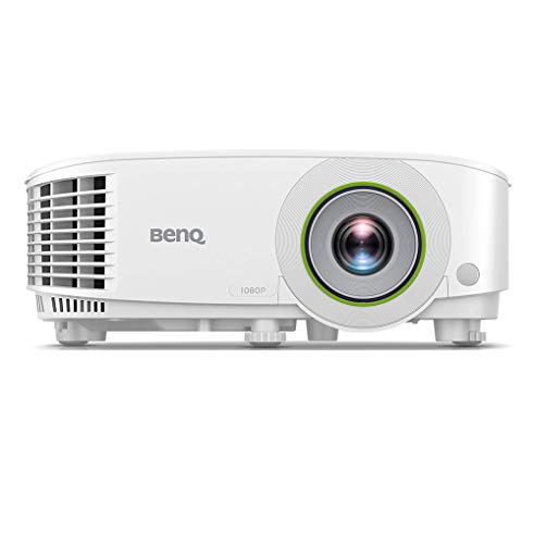 BenQ EH600 Wireless 1080p Portable Smart Business Projector   iPhone & Android Mirroring Compatibility   Built-in Apps & Internet Browser for Easy Presentations   Convenient Over-The-air Update