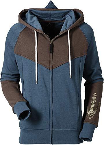 Assassin's Creed Unity - Logo - Zipper | Ubisoft Offizielles Merchandise, Größe:L