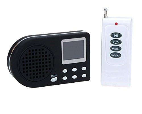 Llamador de aves digital, con reproductor de mp3, mando a di