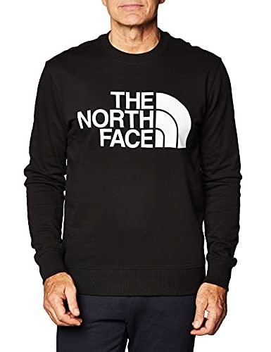 The North Face Men's Standard Crew Pullover, Black, L Uomo