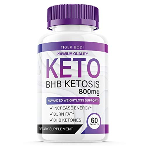Keto BHB Capsules for Weight Management 800 mg, BHB Keto Diet Pills for Real Energy, Focus, Boost - Advanced Exogenous Ketones for Rapid Ketosis for Men Women (60 Capsules) 1