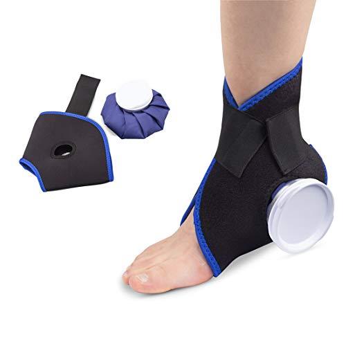 Hivexagon Fascia elastica per terapia del caldo e del freddo compressione caviglia HG256