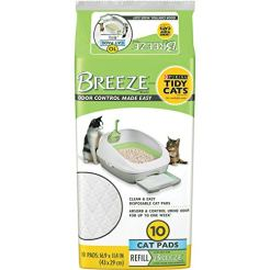 Purina-Tidy-Cats-Cat-Pads-BREEZE-Refill-Pack-6-10-ct-Pouches