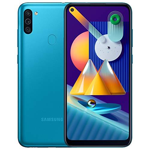 Samsung Galaxy M11 - Smartphone débloqué 4G - Bleu [Exclusif Amazon]