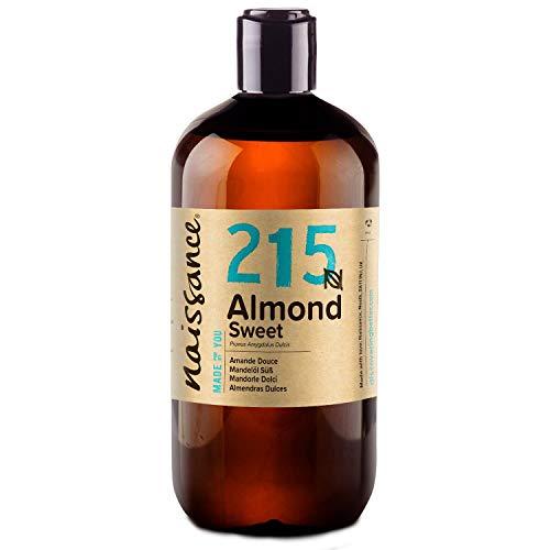 Naissance natürliches Mandelöl süß (Nr. 215) 500ml - Vegan, gentechnikfrei -...