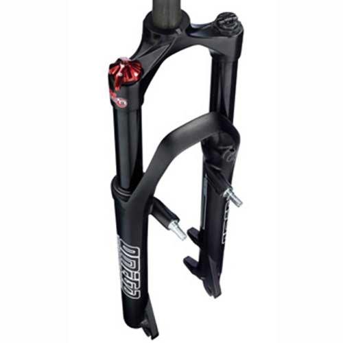 RST Federgabel Omega TNL, schwarz glänzend, Laufradgröße: 26\'\'