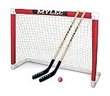 Mylec Deluxe Hockey Goal Set , Red/White, 48' x 37'