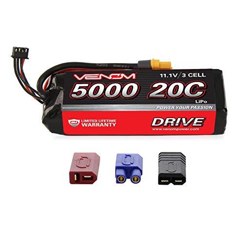 Venom 20C 3S 5000mAh 11.1 - Batería LiPO con Sistema de Enchufe...