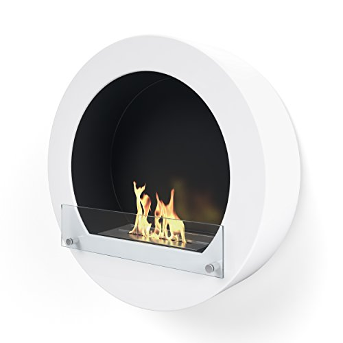 Imagin IMBF20W Wall Mounted Bioethanol Fireplace