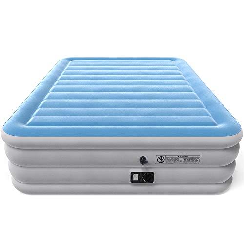 queen air mattress with built-in pump