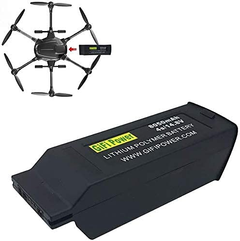 Batteria di ricambio LiPO 8050mAh 4S 14,8V per YUNEEC Typhoon H, Typhoon H +, Typhoon H Drone