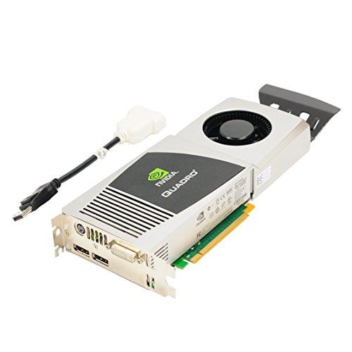 Scheda video originale Dell 1G28H Y451H NVIDIA Quadro FX 4800 1,5 GB GDDR3 PCI-E PCI-Express 2.0 x16 DVI DisplayPort Full height compatibile con i numeri di parte: 1G28H Y451H