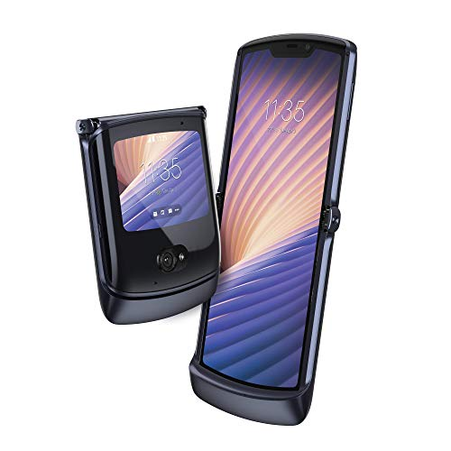 Motorola razr 5G - Smartphone 5G, pantalla 6.2' HD+, procesador...