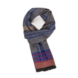 Scarf for Men Reversible Elegant Classic Cashmere Feel Scarves for Spring Fall