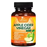 100% Natural Raw Apple Cider Vinegar Pills Extra Strength 1300mg - Weight and Appetite Support, Made in USA, Best Vegan ACV, Metabolism Support & Detox Cleanse Supplement - 60 Capsules