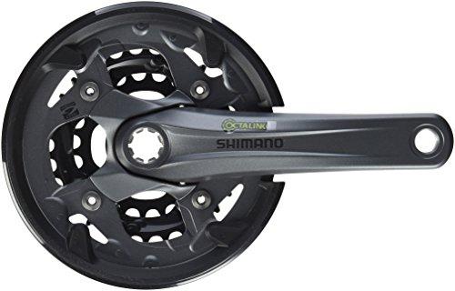 SHIMANO(シマノ) FC-M4000 9S W/チェーンガード ・対応BB オクタリンクES 118mm 40X30X22T 170mm FC-M4000