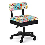 Arrow Cabinets Hydraulic Sewing Chair Sew Wow Black with Sewing Notions Design - H6880
