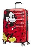 American Tourister Disney Wavebreaker - Maleta Infantil, Spinner L (77 cm - 96 L), Multicolor (Mickey Comics Red)