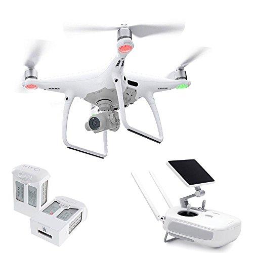Drone DJI Phantom 4 PRO+ (Kit com Rádio + tela de 5.5pol + 2 baterias extras) - CP.PT.000554.EB (Homologado Anatel)