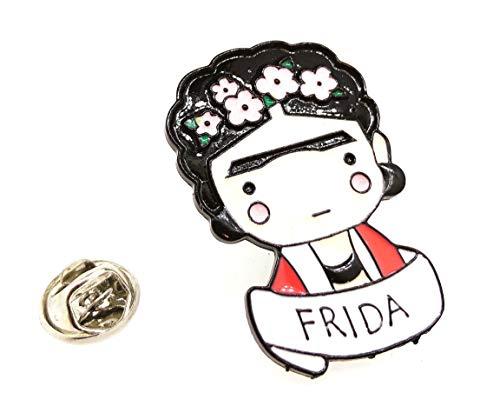 Pin de Solapa Frida Kahlo Flower