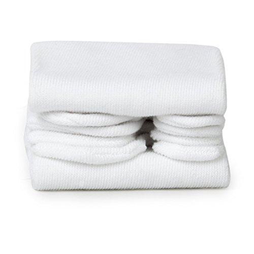 REFURBISHHOUSE bianca Unisex Giapponese Kimono Geta Flip Flop Cotone Tabi Calze Split Toe