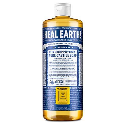 Dr. Bronner's - Pure-Castile Liquid Soap (Peppermint, 32...