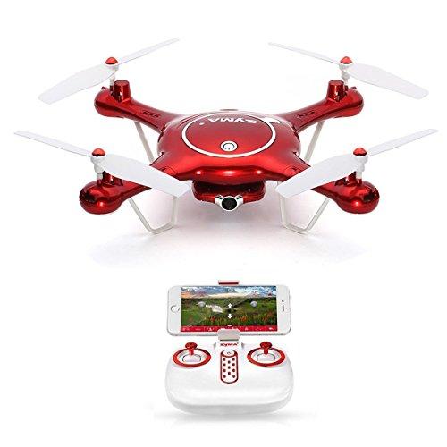 Goolsky SYMA X5UW WiFi FPV Drone con 720p HD Camera Quadcopter ,modalit Senza Testa & barometro &...