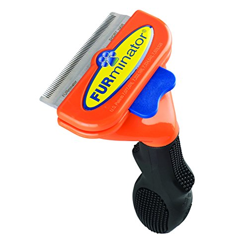 FURminator Short Hair deShedding Tool for Medium...