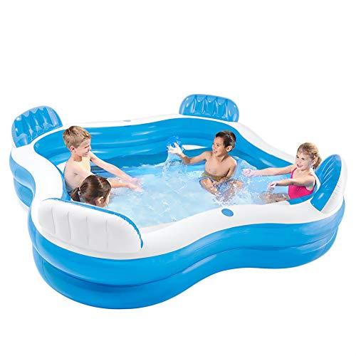 Centro de natación de 4 Asientos Piscina de la Sala Familiar Piscina Inflable Familiar Piscina Hinchable para niños Piscina Inflable para niños Adultos Sala Familiar