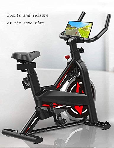 YFFSS Exercise Bikes, Ultra-Quiet Exercise Bike, Home Adjustable Exercise Pedal Spinning Bike, Professional Magnetic Control Indoor Weight Loss Exercise Fitness Equipment 7