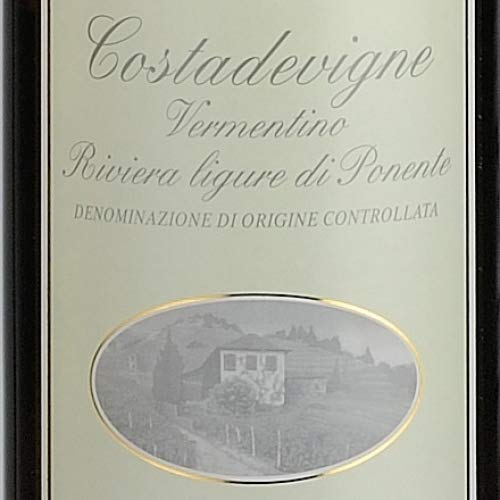 MASSIMO ALESSANDRI Vermentino Riviera Ligure di Ponente DOC'Costa de Vigne' 2019 6 x 0,75 l