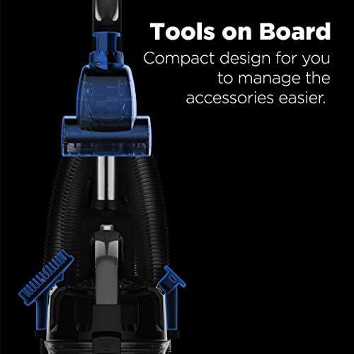 eureka PowerSpeed Bagless Upright Vacuum Cleaner, Pet Turbo, Black 18