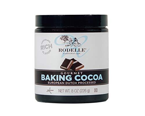 Rodelle Gourmet Baking Cocoa, 8 Ounce