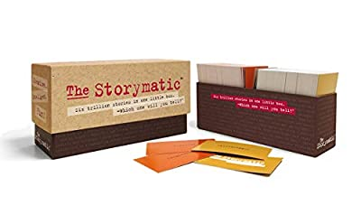 Unique card combinations prompt stories, characters, scenes, situations, and plots. Includes a booklet filled with prompts, games, and suggestions. Wildcards prompt you to go in directions you might not ordinarily go. Easy, fun creative tool for writ...