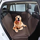 Petslover Double Layers Oxford Fabric Waterproof Pet Car Seat Cover Dog Hammock Protector Back Mat Pet Carriers for Hatchback Car Seat Cover