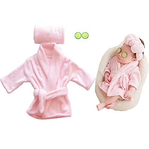 Newborn Baby Photography Props Cute Bathrobes Outfits Photo Prop...