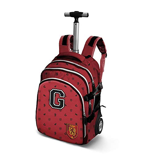 Karactermania Harry Potter Pride Gryffindor-Travel Trolley-Rucksack Zaino Casual, 48 cm, 28 liters,...