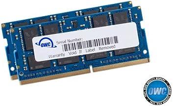OWC 32.0GB (2 x 16GB) 2666MHz DDR4 PC4-21300 SO-DIMM 260 Pin Memory Upgrade,..