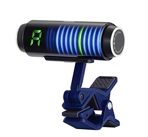 KORG SH-CS100-BL Custom Shop Series Sledgehammer Clip-on Guitar Tuner - Blue