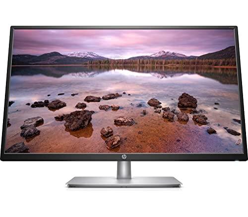 HP 32s – Monitor de 32' Full HD (1920 x 1080, 60Hz, 5ms, IPS LED, 16:9, HDMI, VGA, Antirreflejo, Antiestático, Inclinación Ajustable) Negro
