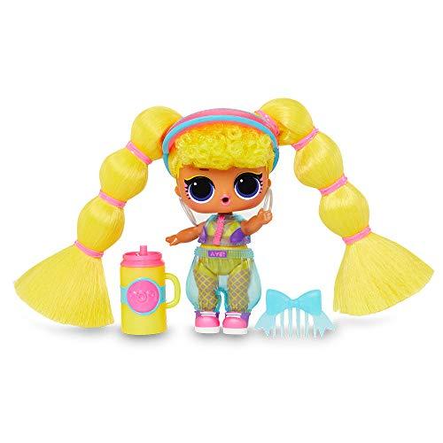 Image 1 - L.O.L. Surprise, Remix Hair Flip - 15 Surprises Dont 1 Poupée 8 cm, 1 Tiny Disque à écouter sur Le Speaker, Modèles Aléatoires à Collectionner, Jouet pour Enfants dès 3 Ans, LLUG8