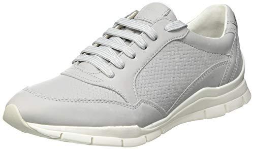 Geox D Sukie A, Zapatillas Mujer, Gris, 39 EU