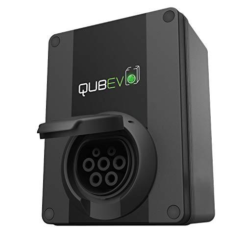 QUBEV - Punto de Recarga EV | Tipo 2 | 32 A /7.2 KW | Certificación IP65 |