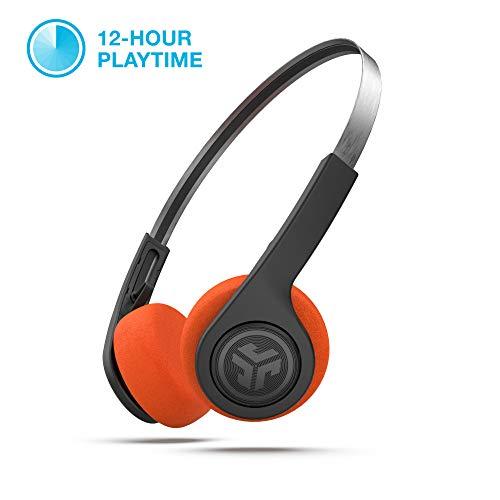 JLab Audio Rewind Wireless Retro Headphones | Bluetooth 4.2...