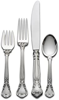 Gorham Chantilly 4-Piece Sterling Silver Flatware Place Set, Service for 1